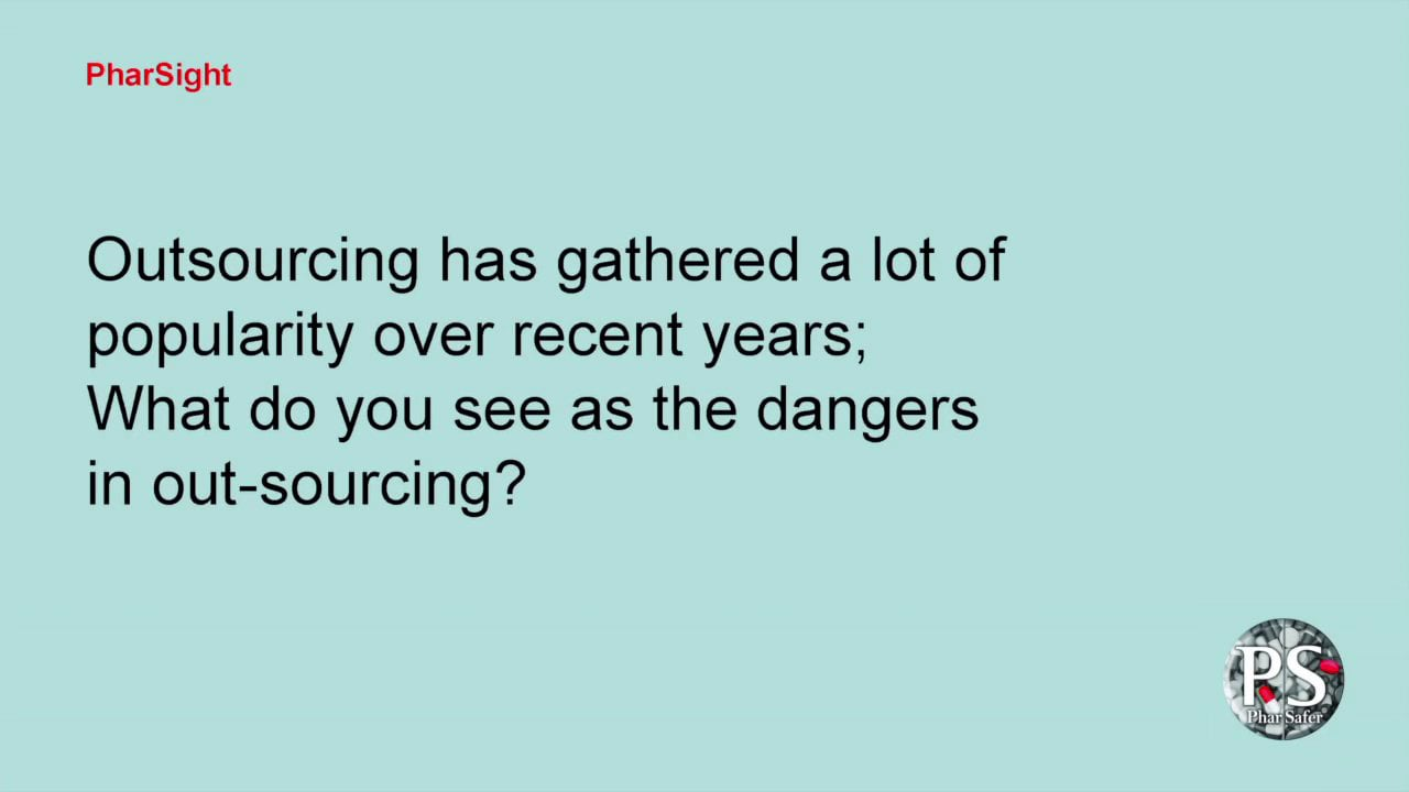 Q 20: What do you see as the dangers in out-sourcing?