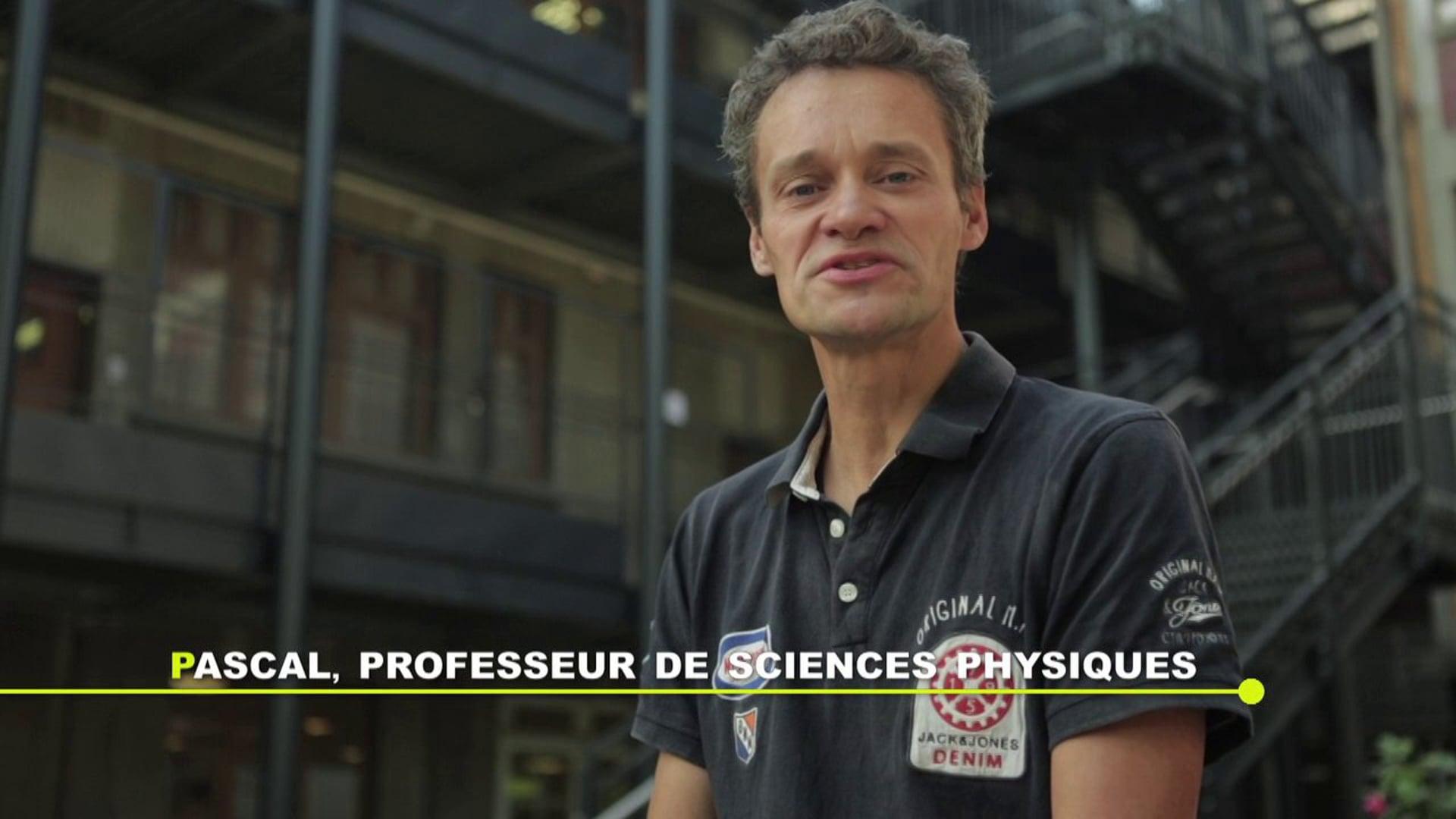 Devenir Enseignant - Pascal