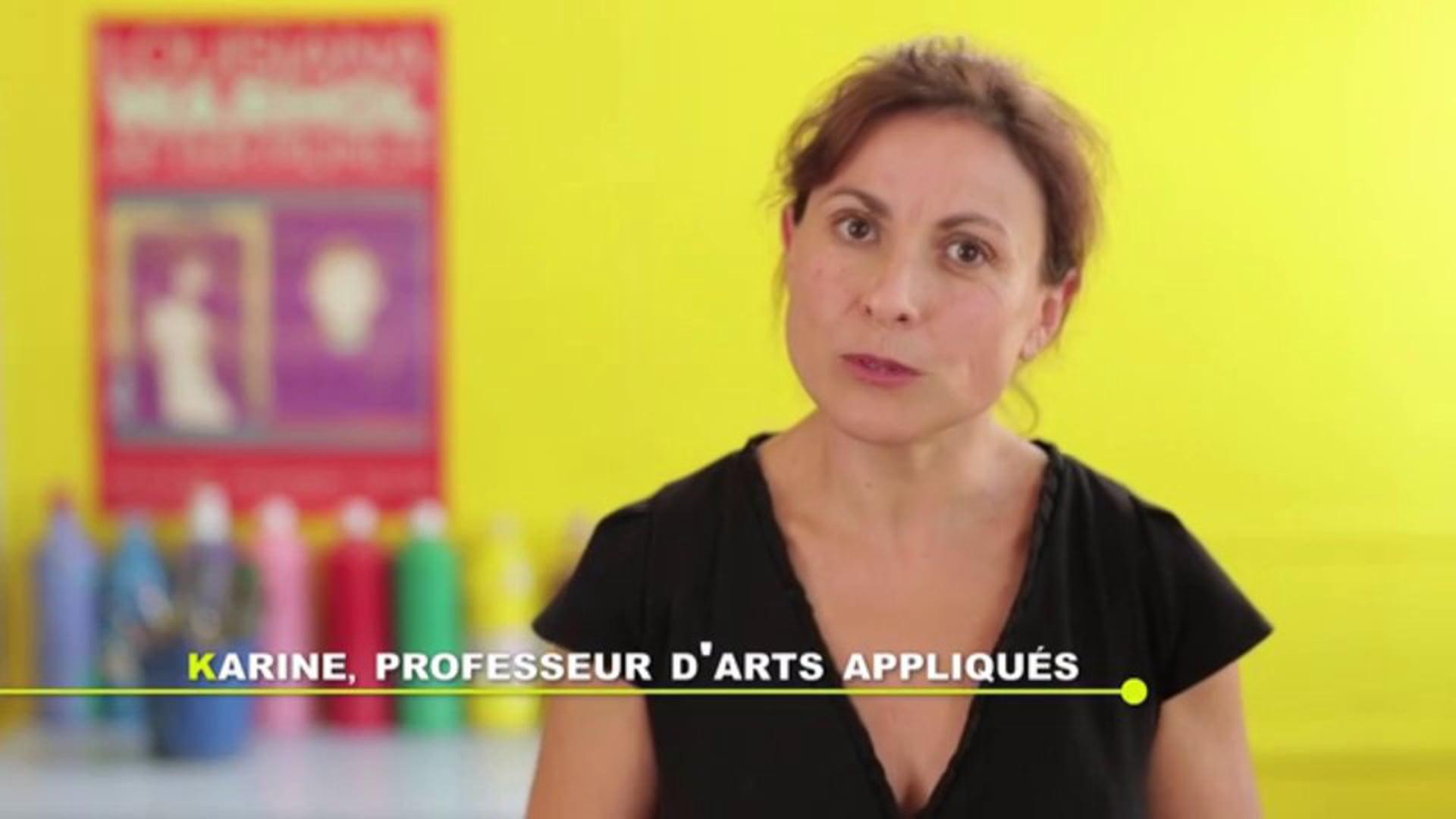 Devenir Enseignant - Karine