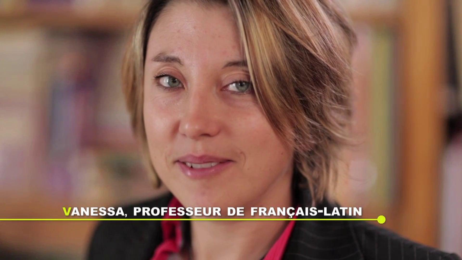 Devenir Enseignant - Vanessa