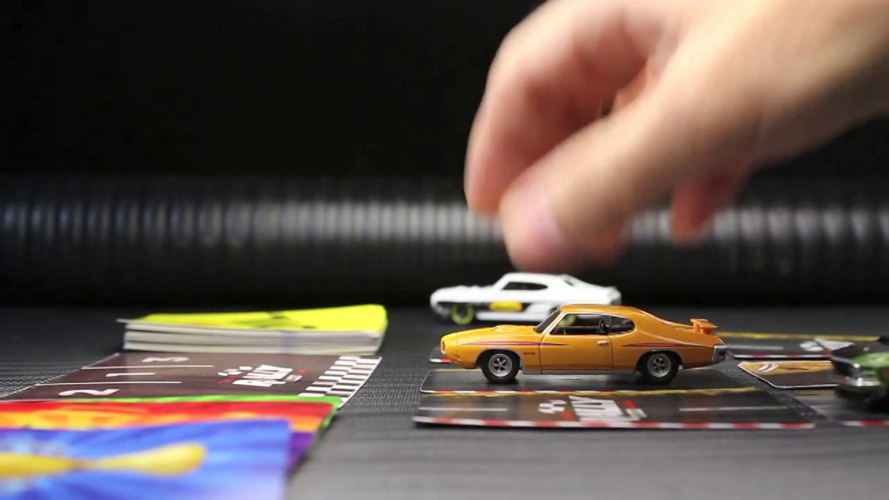 Turbo Rally Card Racing RPM Expanded Play