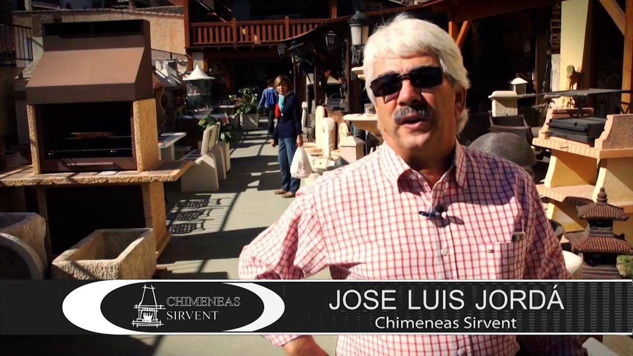 Video de opinión de clientes para Chimeneas Sirvent en la Fira de Cocentaina