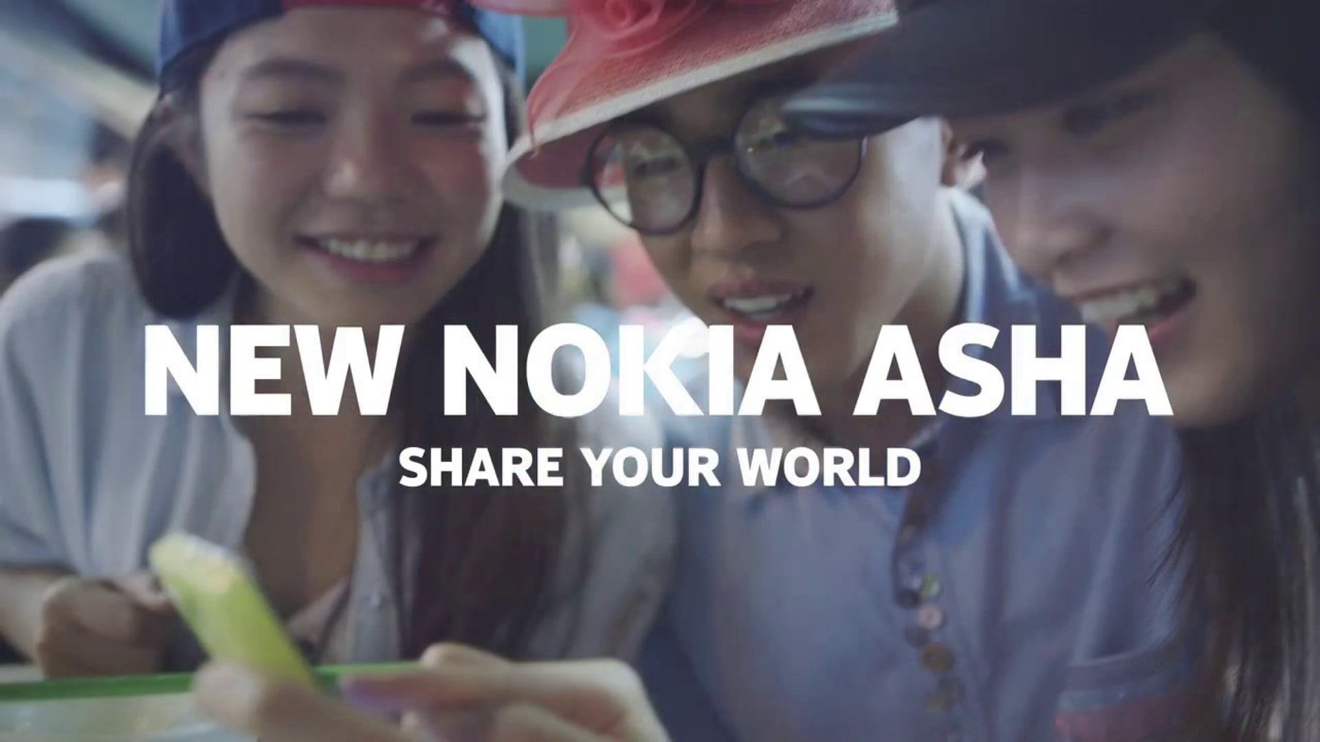 New Nokia Asha range - share your world
