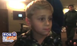 Boy's Tornado Warning Helped Save His Family's Lives