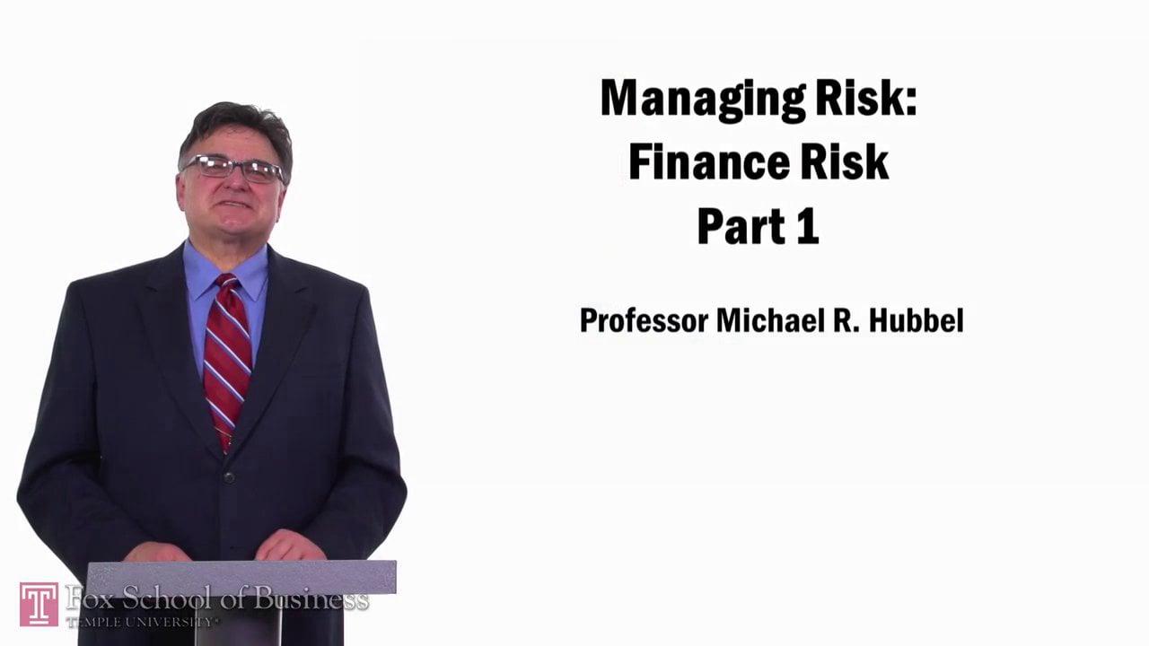 57689Finance Risk pt1