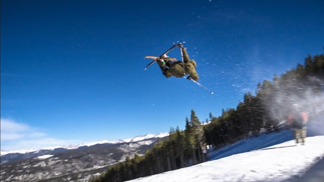 First day on J skis – Giray Dadali from J skis