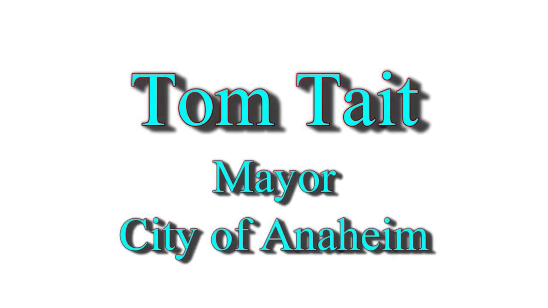 Tom Tait - Creating a Civic Culture Rooted in Kindness