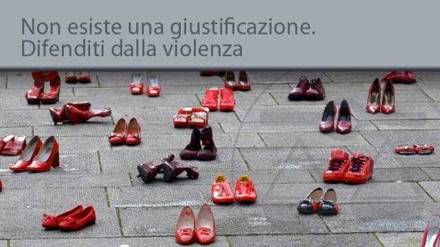 Non esiste una giustificazione. Difenditi dalla violenza - 27/11/2013