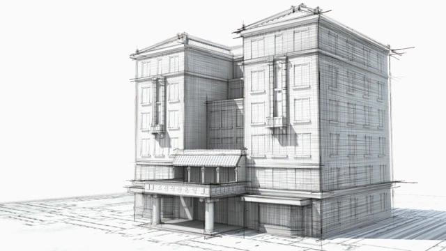Building Sketch | Motion Graphics