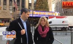 Matt and Heather Faucette Christmas in Manhattan