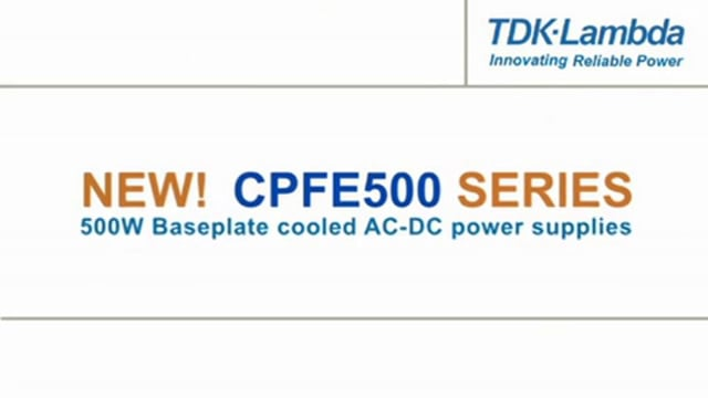 CPFE500 500W Baseplate Cooled