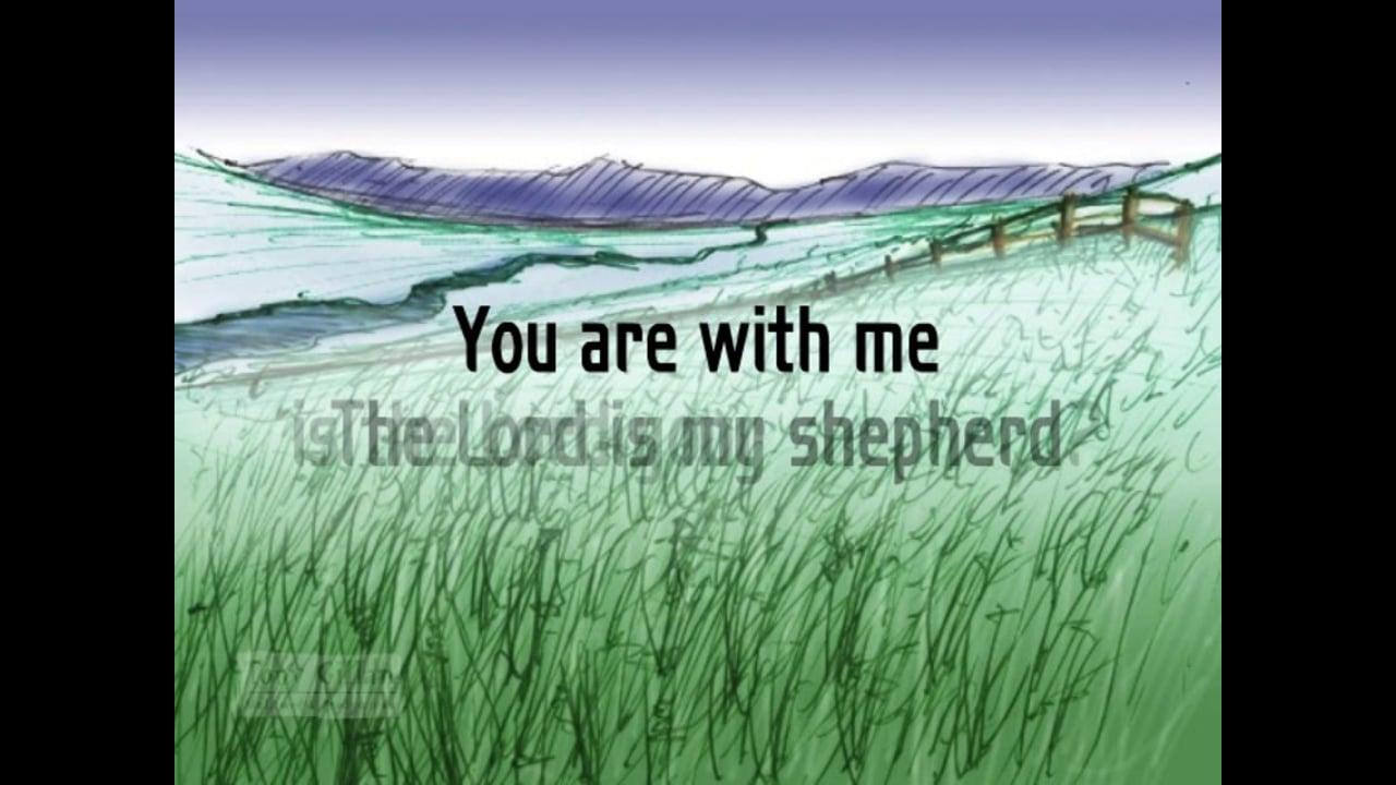 B052 - Lord is My Shepherd