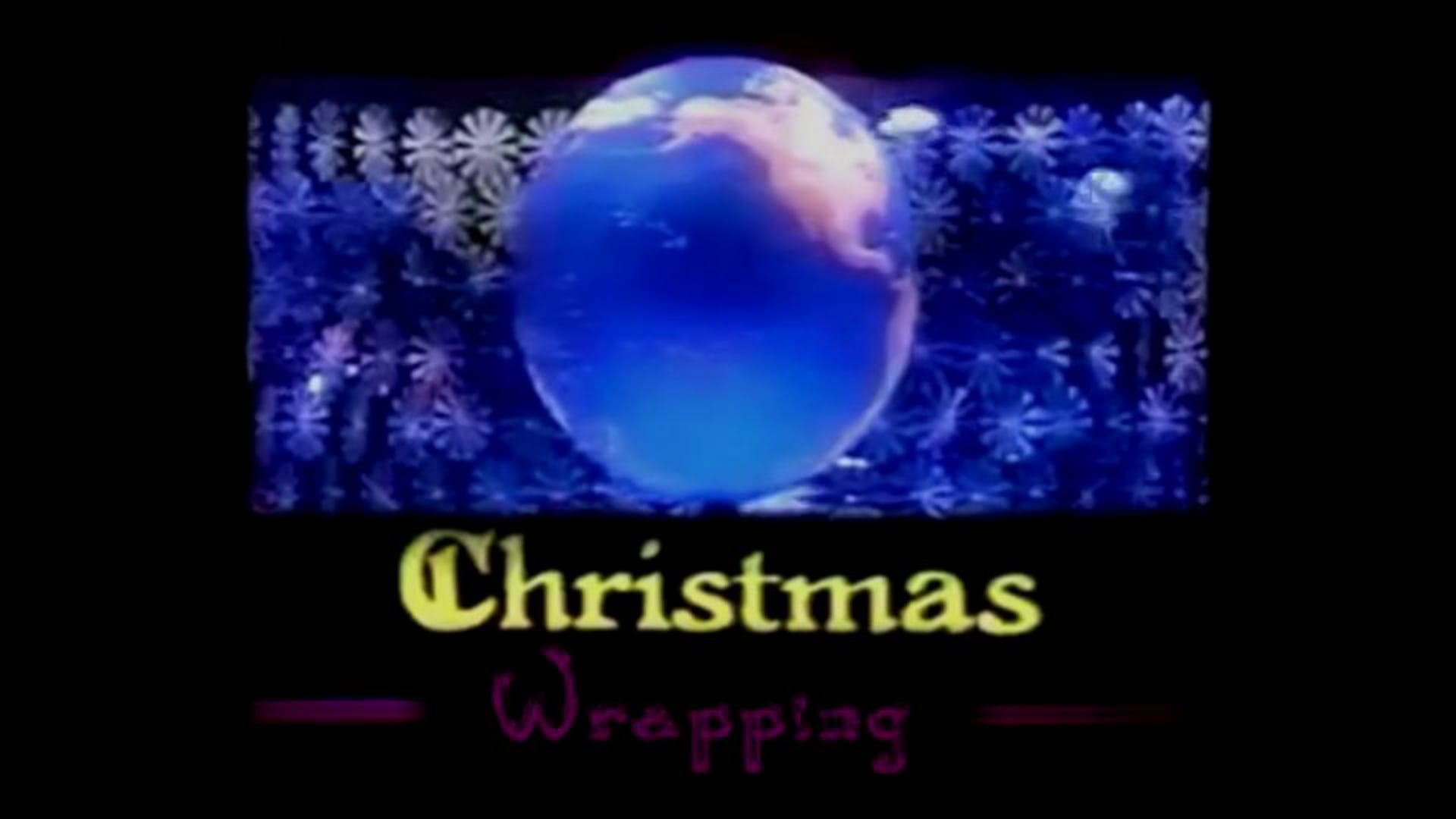 Christmas Wrapping: the BBC Gets Festive