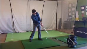 Tee'd Up 7-Iron - A Feel Based Shallow Drill