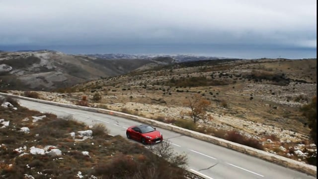 Peugeot RCZr Test Drive