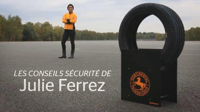 Continental - Web-série : Les conseils sécurité de Julie Ferrez