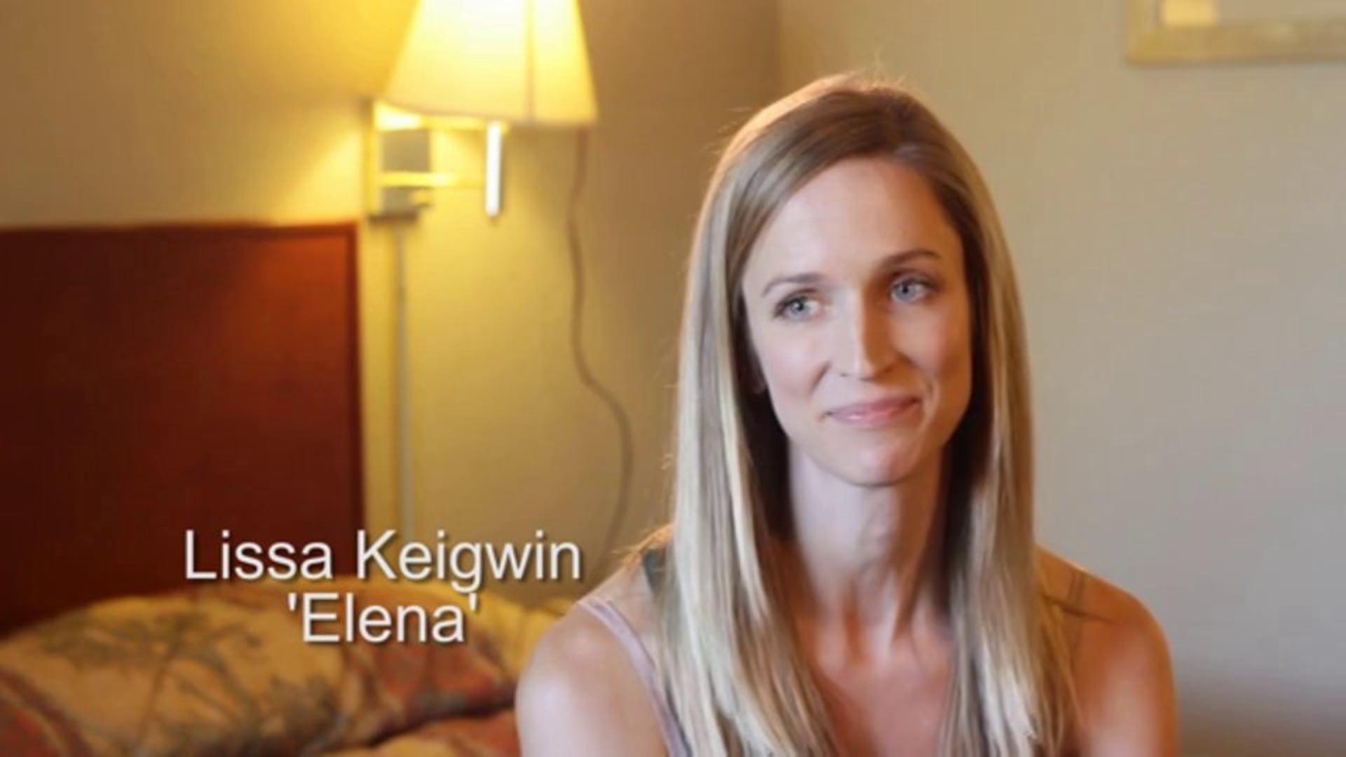 """Lissa Keigwin - """"War Path"""" extended video interview"""