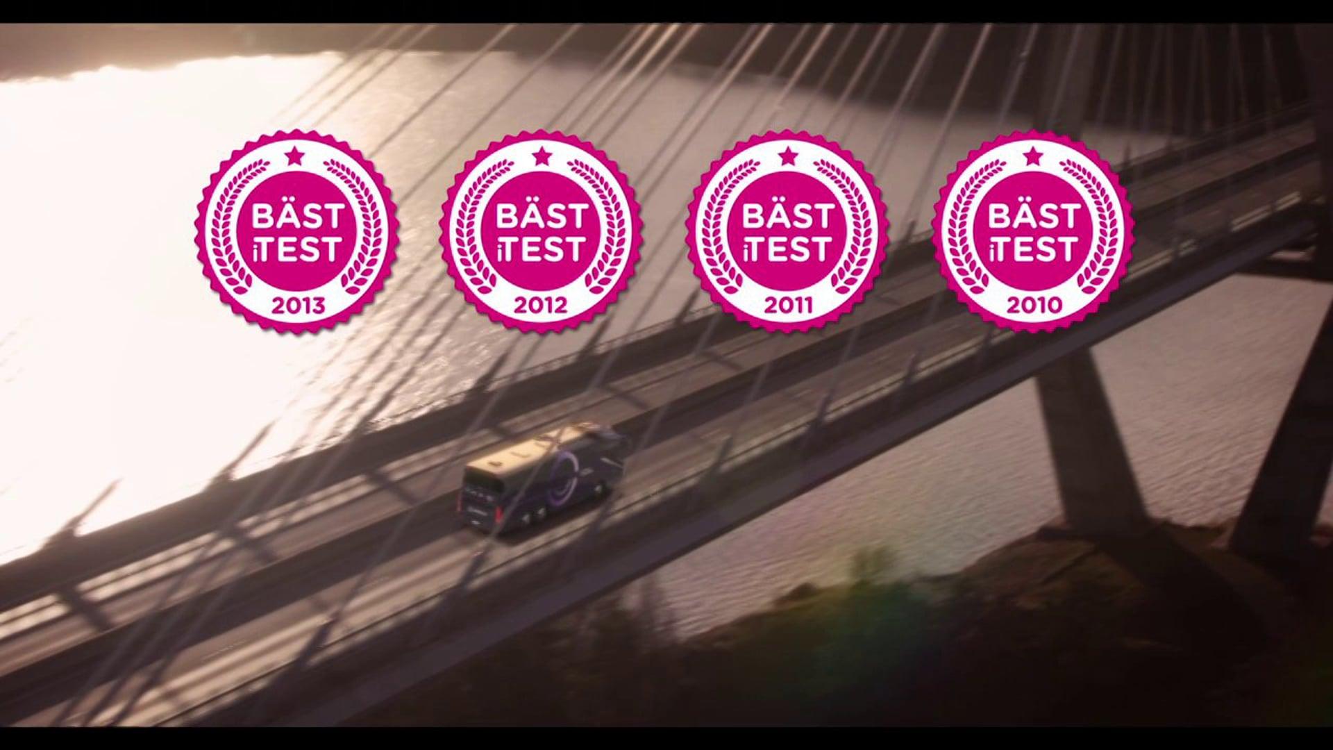 "Nettbuss Bus4You Sverige - ""I Love Campaign"" TV Commercial 20sec"