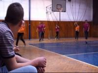 Majstrovstvá ŠI vo futbale dievčat - zápas I.ročník - II.ročník