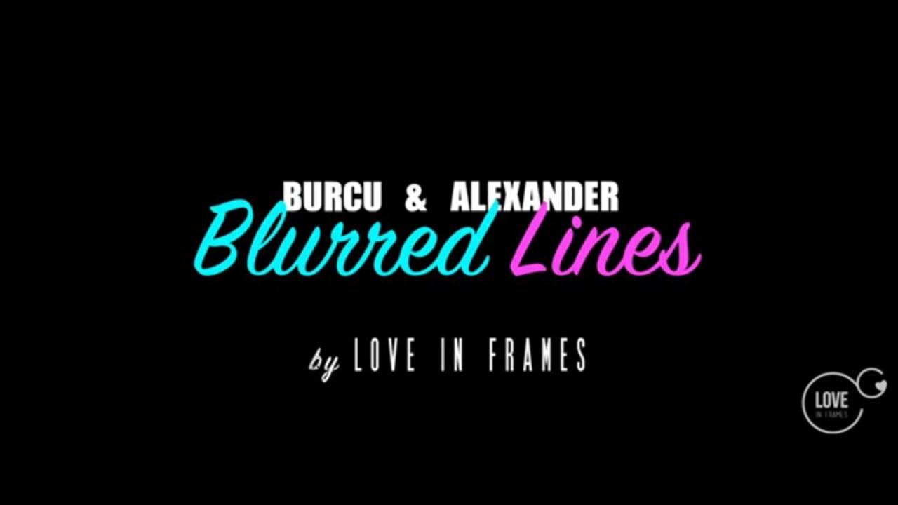 B & A // Weddingclip // Blurred Lines
