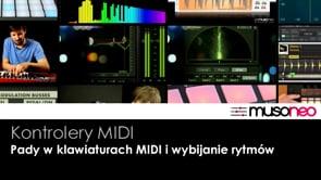 Pady w klawiaturach MIDI
