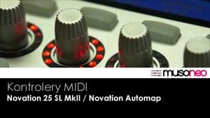 Klawiatura Novation z systemem Automap
