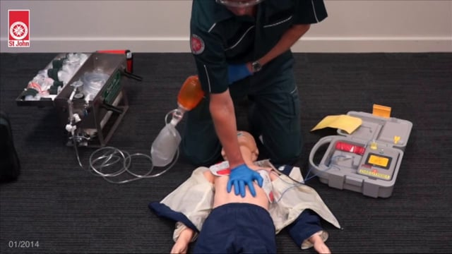 Resuscitation - Child (VIDSKILL030)