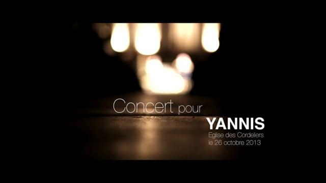 Concert pour Yannis