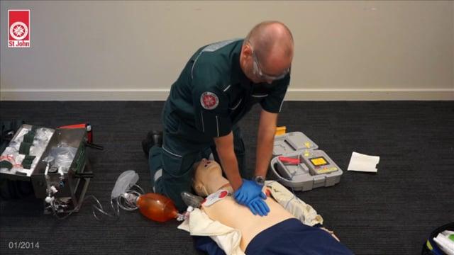 Resuscitation - Adult (VIDSKILL011)