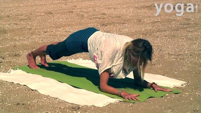 Yoga op het strand: nieuw perspectief
