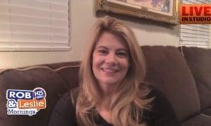Lisa Whelchel Vistis Rob and Leslie