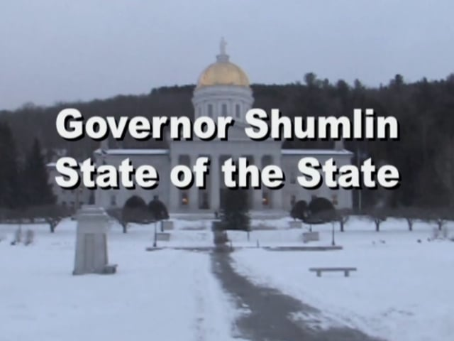 Vermont Governor Peter Shumlin State of the State Address 2014