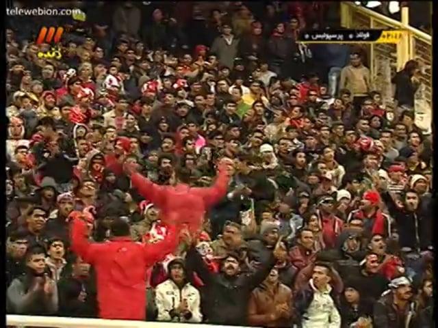 Foolad vs Persepolis - FULL - Week 22 - 2013/14 Iran Pro League