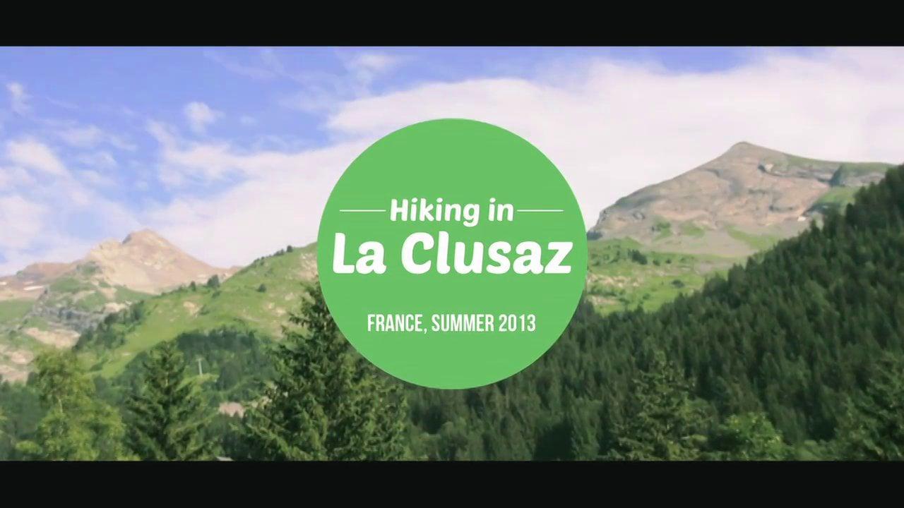 Randonner à la Clusaz en été / Hiking in La Clusaz in Summer (France)