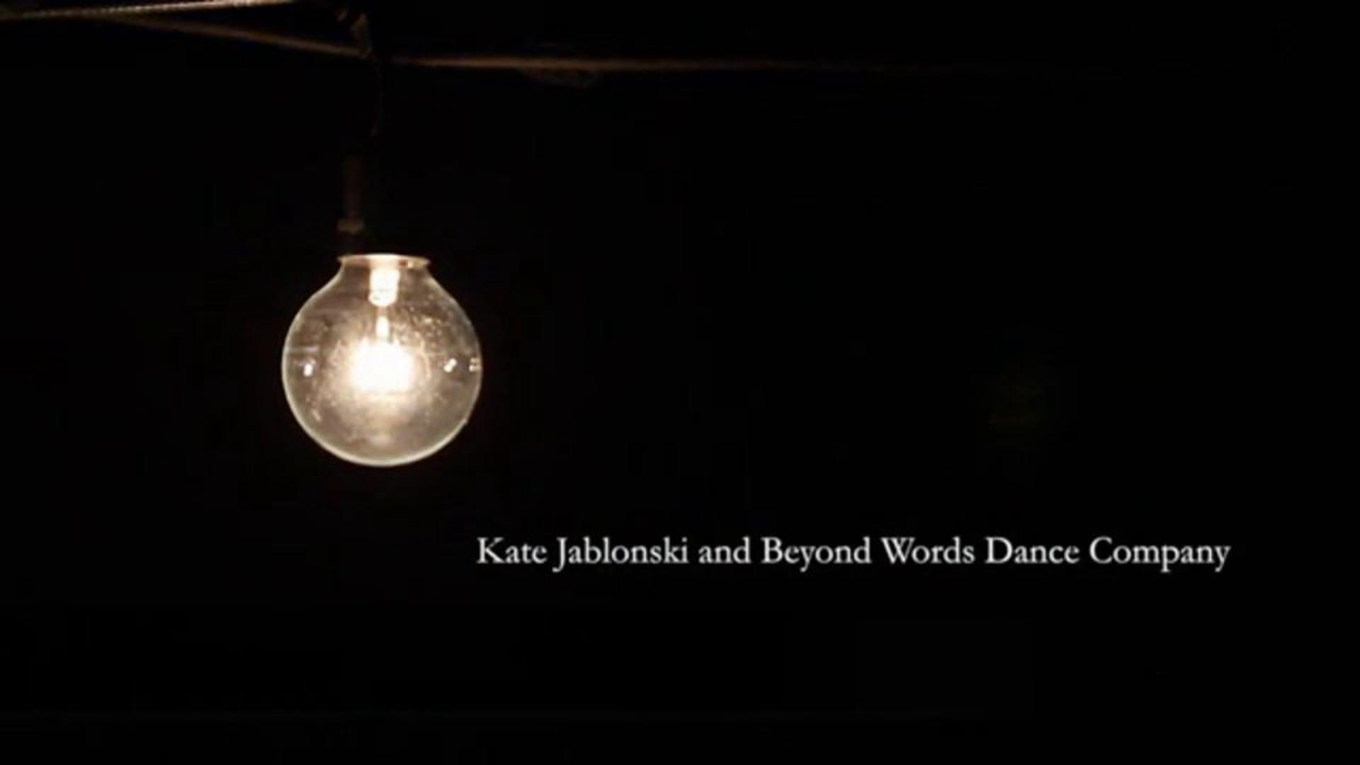 """In This Shirt""   Kate Jablonski-Choreography"