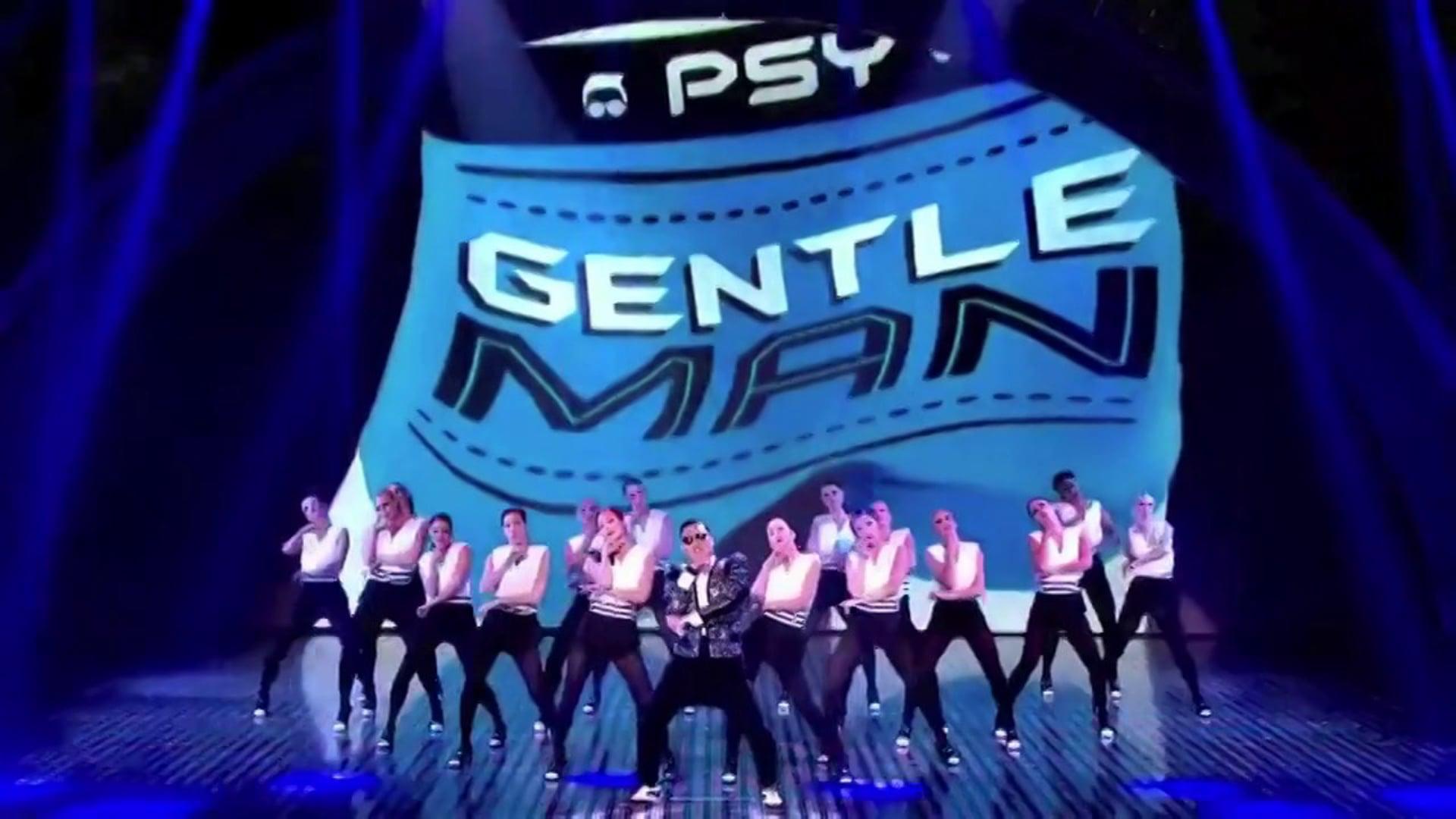 PSY Gentlemen Britains Got Talent