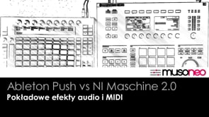 Pokładowe efekty audio i MIDI