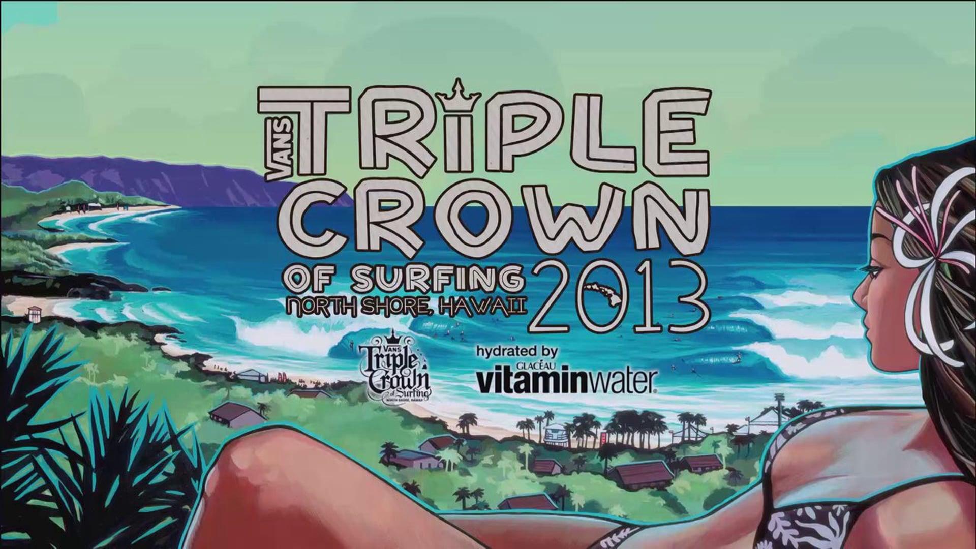 2013 Billabong Pipe Masters: TV Show