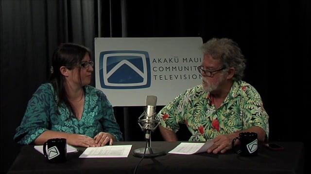 12-30- 2013 AKAKU live at 5 on 55 – maui community tv/media , hosted by RUHI MORAN & JASON SCHWARTZ