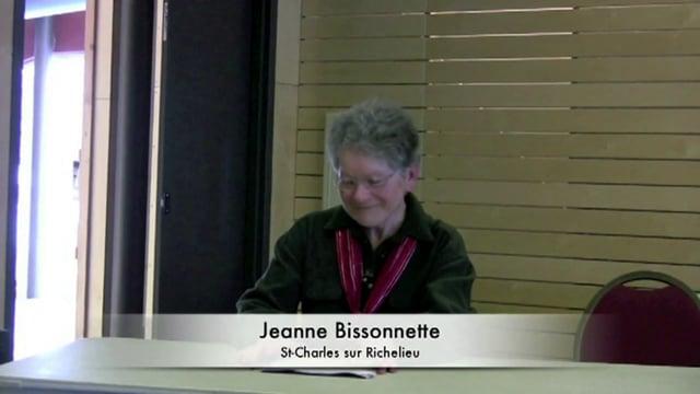 """Jeanne Bissonnette au R.J.É. - """"Tout le monde jardine"""""""