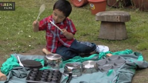 Watch Two year olds outdoors - Sheja
