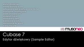 Edytor dźwiękowy czyli Sample Editor