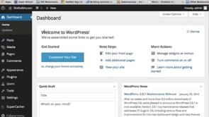 Learn WordPress 3.8