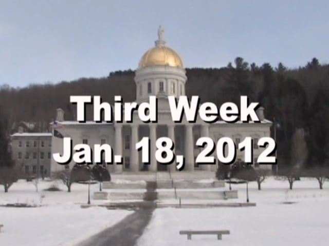 Under The Golden Dome 2012 Week 3