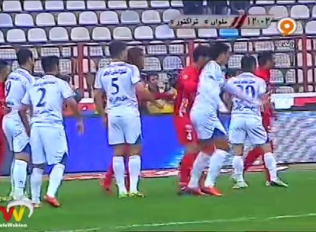 Malavan vs Tractor Sazi - FULL - Week 24 - 2013/14 Iran Pro League