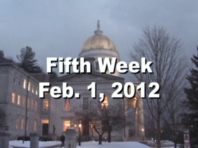 Under The Golden Dome 2012 Week 5