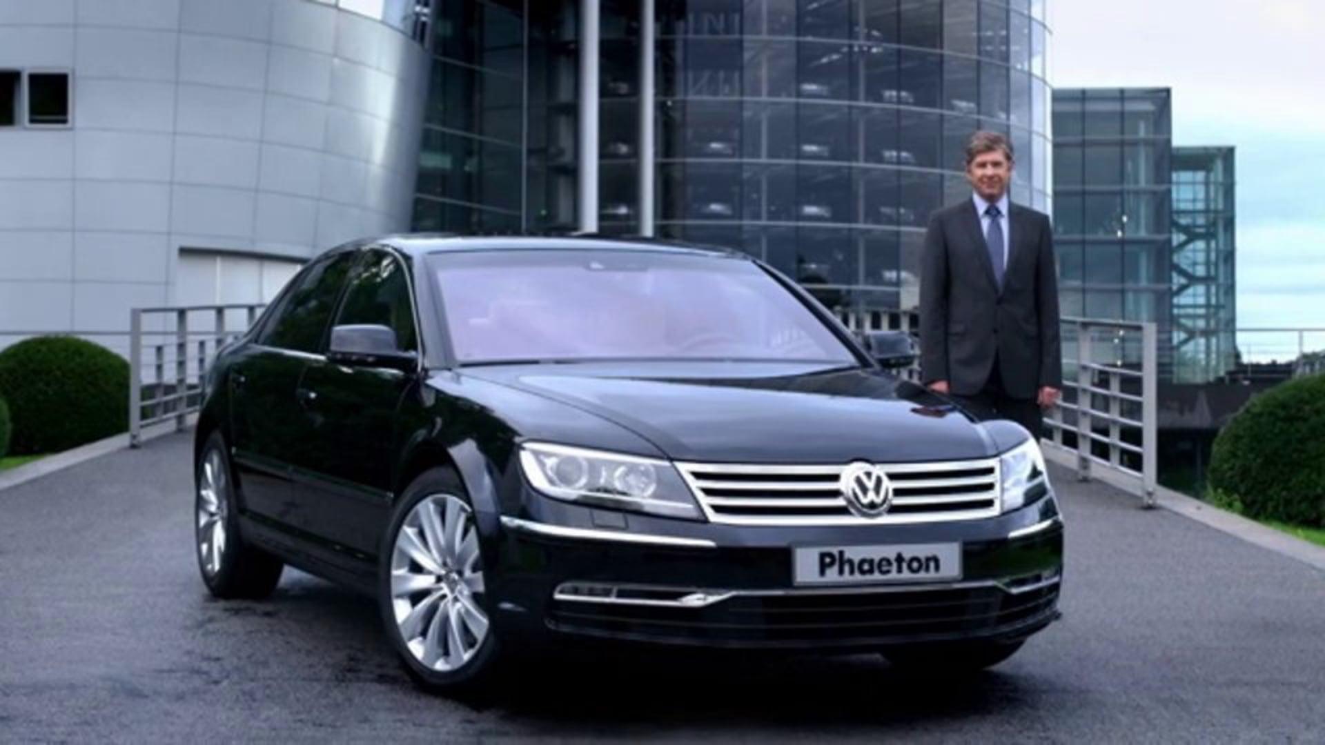 THE VISION. VW Phaeton/China