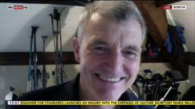Sky News Antarctica