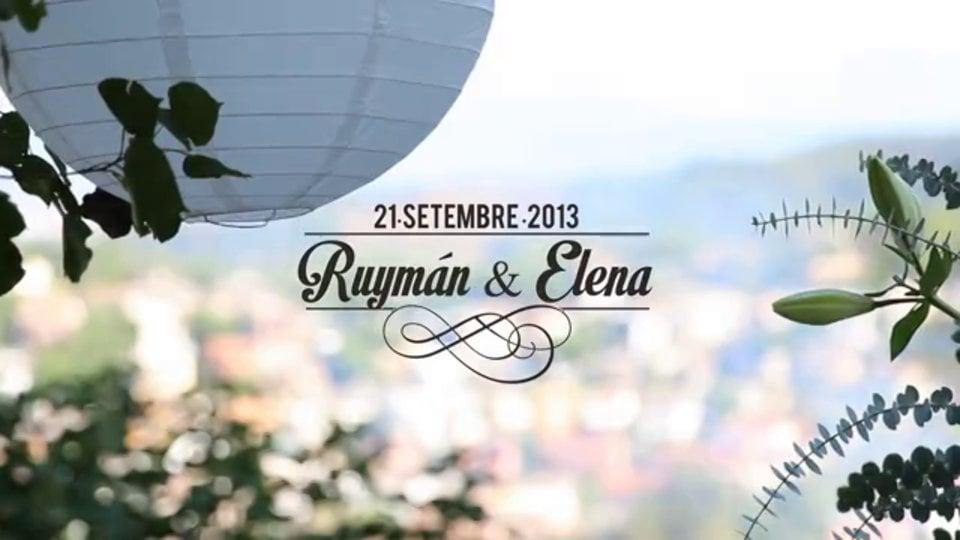 Enlloc com a casa. Ruyman i Elena.