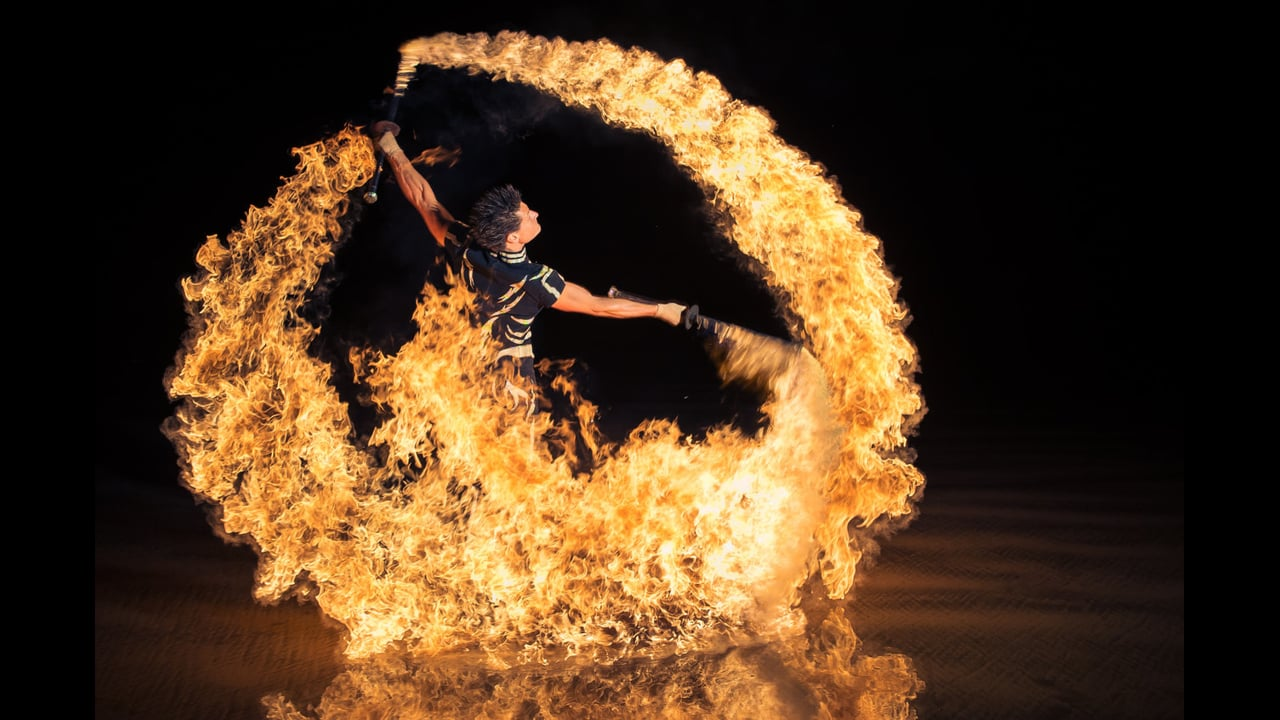 Fire Fury 2014 - Duo, Trio or Quartet Fire Show